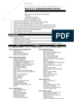 Lotus Domino 8.5.1 Administration Basics (DSAB851)
