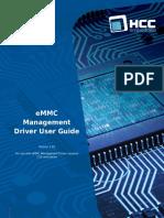 HCC eMMC Management Driver User Guide v1_10