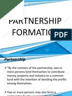 AFAR -  Partnership Formation