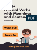 1000 Phrasal Verbs With Meanings and Sentences - Learn English With a to Z Phrasal Verbs 2