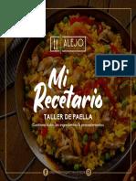 RECETARIO PAELLA
