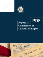 Report of the Commission on Unalienable Rights