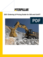 2021 Ordering & Pricing Guide for SIS and Cat ET