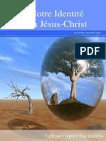 Notre Identité en Jésus Christ