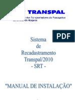 MANUAL DE INSTALAÇÃO DO SRT_CD_2010