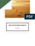 THE TAO OF EMPLOYABILITY