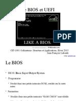 16. Le BIOS