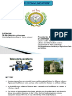 Telicomunication ppt