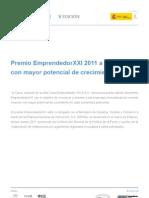 Concurs emprenedors 2011 de La Caixa