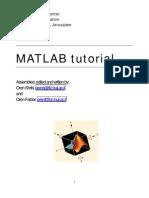 Matlab_Tutorial(Oren_Shriki)