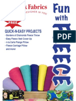 Fleece projects