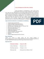 Computer Game Development and Education (CGDEIJ)