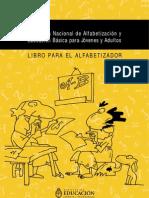 Ministerio de Educación - Libro para el alfabetizador