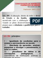 CONSTITUIÇÃO - MODULO Educação  e Crianca e Adolescente