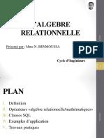 1NB Algèbre Relationnelle (SQL)