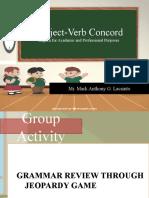 LESSON-1-SUBJECT-VERB-CONCORD
