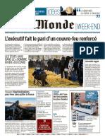 Le Monde du Samedi 16 Janvier 2021@PresseFr