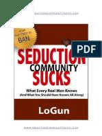 Seduction Community Sucks