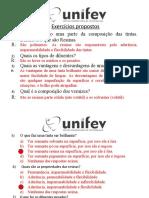 1 - Lista de exercícios 1 - Tintas - RESOLVIDOS