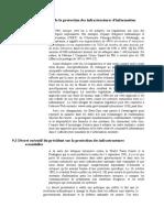 Chapitre 9 – Partie 02 Loi de la protection des infrastructures d'information nationale 1996