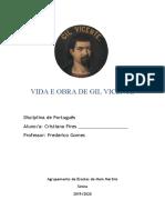 VIDA  E  OBRA DE GIL VICENTE