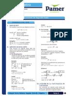 Teoria y Problemas de Ecuacion de Segundo Grado PAMER Ccesa007