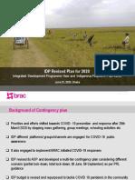 IDP_ Contingency Progress for 2020