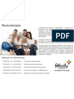 Flyer Musicoterapia