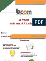 b.com Crm Novita dalla Vers. 671 alla Vers. 697