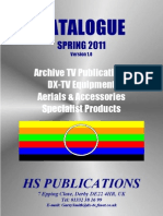 HS PUBLICATIONS CATALOGUE SPRING 2011 Version 1.0