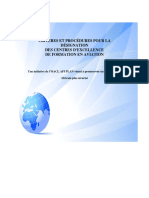 Criteria and Procedures for the designation