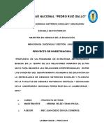 PROYECTO DE INVESTIGACION  YOANA