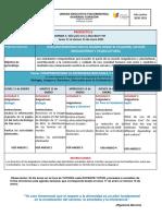 Agenda 1 Proyecto 6 -  1ros y 2dos BGU y BT -