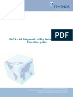 PACS  AA Diagnostic utility Installation and Execution guide