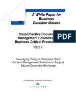 THINKstrategies WP_Cost-Effective Document Management Solutions