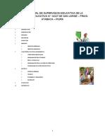 PLAN ANUAL DE  SUPERVISION EDUCATIVA DE LA INSTITUCION  EDUCATIVA N