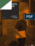 Datos tecnicos - transpaleta hidráulica