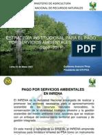 Estrategia Para El Pago Pago Por Servicios Ambientales