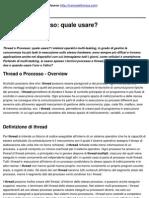 Thread o Processo_ Quale Usare_ - 2010-11-02