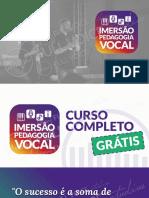 Imersao Full Voice – Resumao e Tecnicas Avancadas de Canto