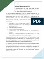 BASES DE LA PSICOMOTROCIDAD