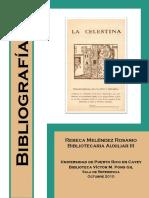 Melendez Rosario 2010 Bibliografia La-celestina