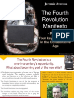 Fourth Revolution Manifesto part7 - Four Keys to Success in the Collaborative Age