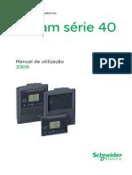 Sepam serie 40 - Manual de utilização