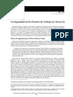 5. La Seguridad en los Puestos de Trabajo en Alcoa(A)