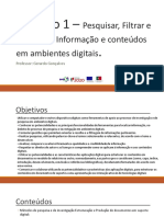 TIC - Modulo_Pesquisa de informacao