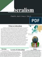 World Politics Liberalism
