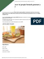 3 recetas para hacer tu propio brunch gourmet y nutritivo en casa _ Para Ti.pdf