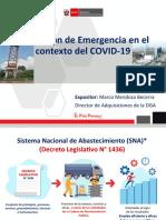 PPT - PRESENTACION LEGISLACION EMERG POR COVID