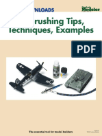 Airbrushing Tips Techniques Examples